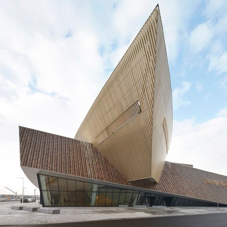 Congress centre by Daniel Libeskind opens in Europe's 2015 Capital of Culture