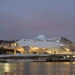 Coop Himmelb(l)au's Musée des Confluences opens on a river peninsula in Lyon