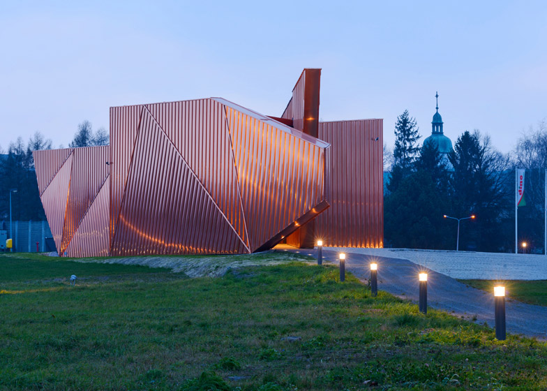 Museum of Fire in Żory by OVO Grabczewscy Architekci