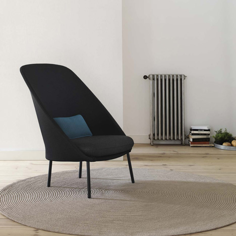 Mut Design Twins lounge chairs