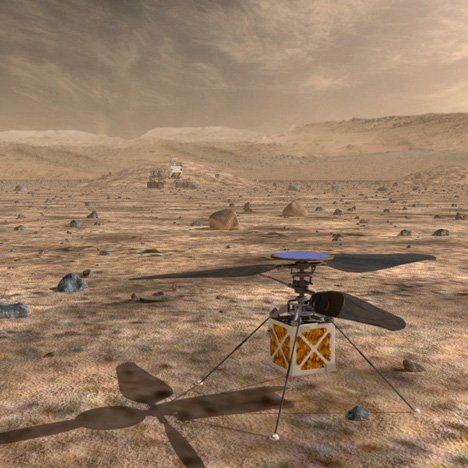 NASA plans to use drones for exploring Mars