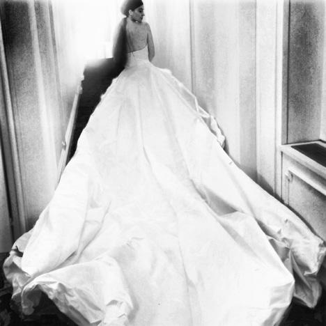 Nellie Diamond wedding dress Olivier Theyskens 2014