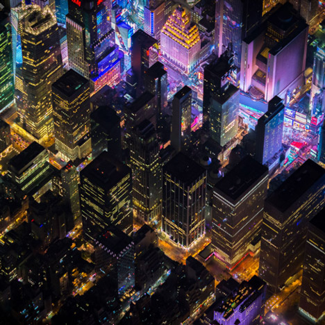 Aerial photographs of New York by Vincent Laforet