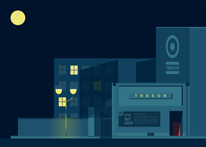 World's best nightclub illustrations by Pablo Benito