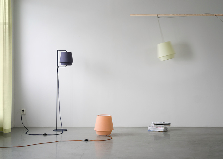 6 of 6 elements lamp by note design studio for zero
