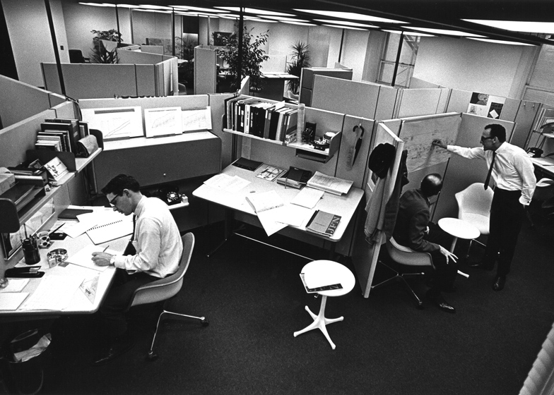The office cubicle: from commercial flop to design classic