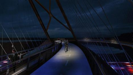 Palo Alto bridge by 64North