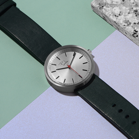 Glasgow-made watches by Paulin launch at Dezeen Watch Store