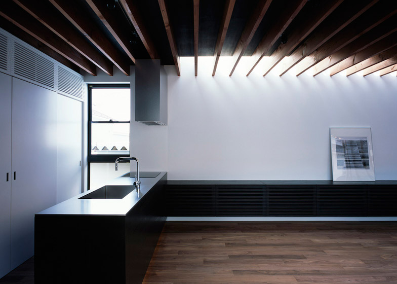 Pegola house in Japan by Apollo Architects