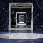 AMO simulates an infinite catwalk for Prada menswear show