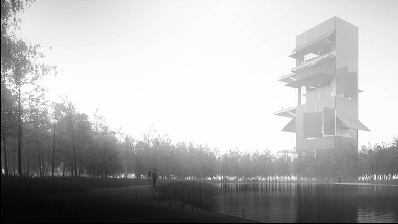 Qingdao cultural complex by Jean Nouvel