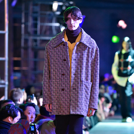 Raf Simons Kvadrat menswear, Autumn Winter 2015 at Paris Fashion Week