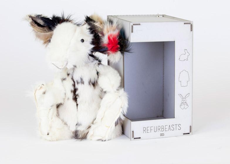 Refurbeasts by Lisa Louwers