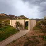 "Tense Architecture Network completes a ""frugal"" concrete home in a Greek olive grove"