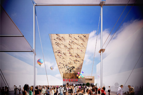 Russian Pavilion at Milan Expo