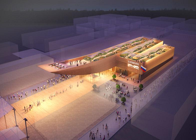Russian Pavilion at Milan Expo