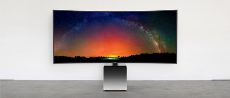 Samsung S9W TV by Yves Behar fuseproject at CES
