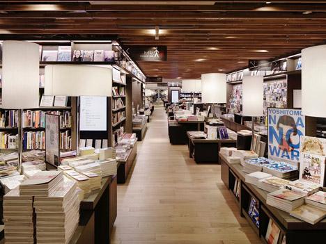Shonan T-Site bookshop by Klein Dytham