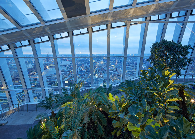 Sky Garden at the Walkie Talkie