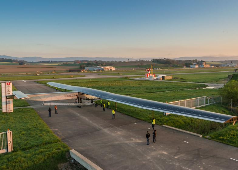 Solar Impulse 2 solar aeroplane flight around the world