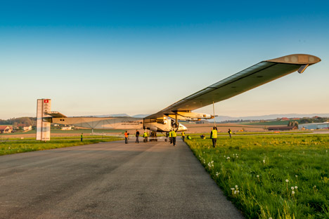 Solar Impulse 2 solar aeroplane flight around the world