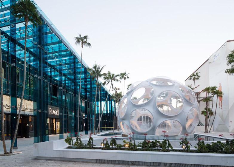 Palm Court by Sou Fujimoto