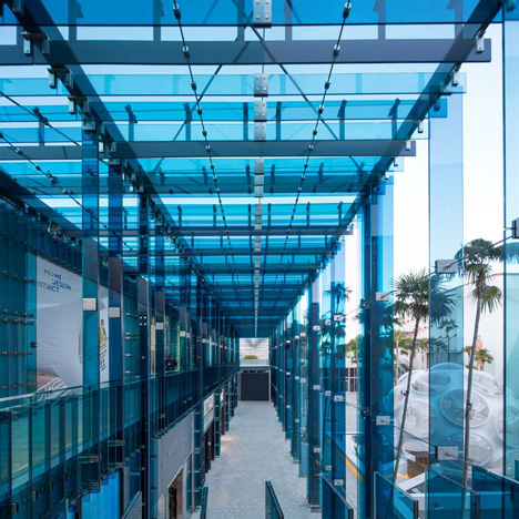Sou Fujimoto's Palm Court retail complex&ltbr /&gt completes in Miami