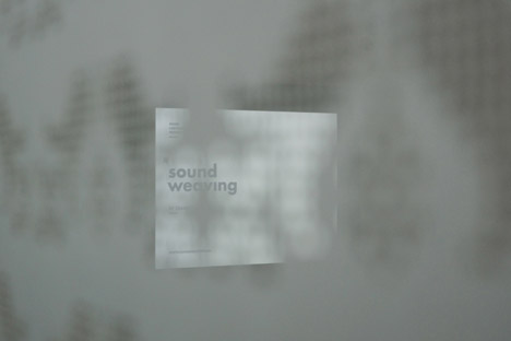 Sound Weaving by Zsanett Sziarmay