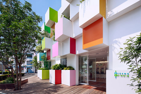 Sugamo Shinkin Bank by Emmanuelle Moureaux