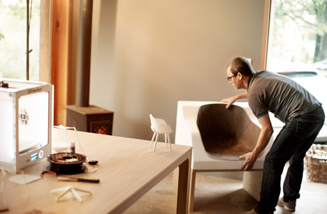 The First Bioplastic Chair Kuskoa Bi by Jean Louis Iratzoki