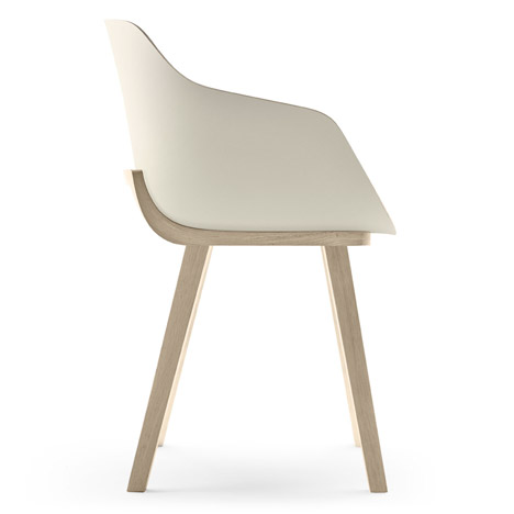 The First Bioplastic Chair Kuskoa Bi by Jean Louis Iratzoki