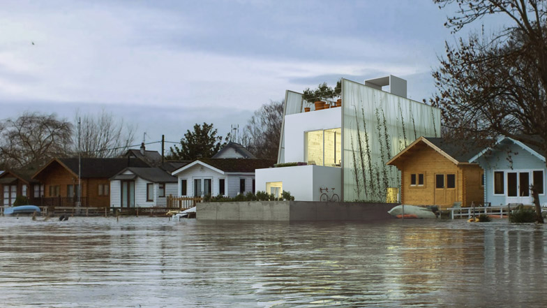 The Floating House by Carl Turner Architects