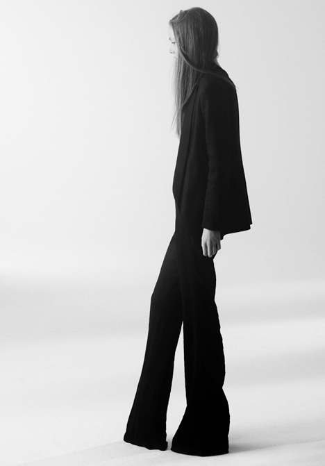 Theyskens Theory Spring Summer 2011 Photograph by Olivier Theyskens 2010