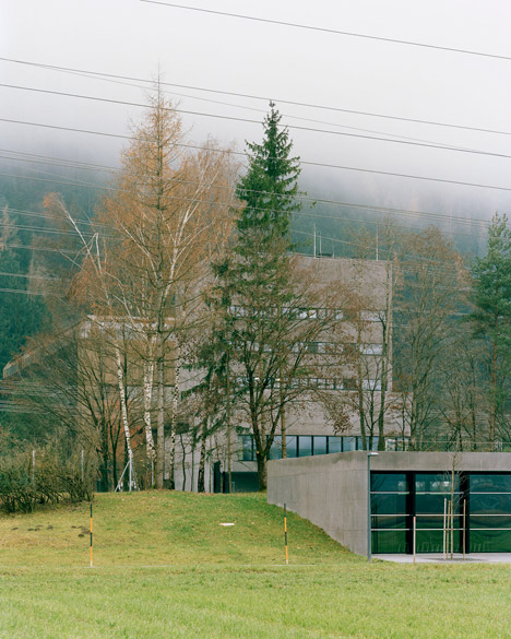 Tiwag Power Station Control Center by Bechter Zaffignani Architekten