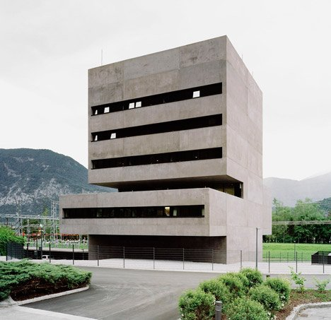 Tiwag Power Station Control Center by Bechter Zaffignani Architekten