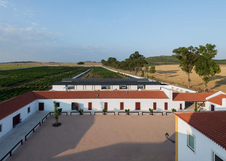 Torre de Palma Wine Hotel by João Mendes Ribeiro