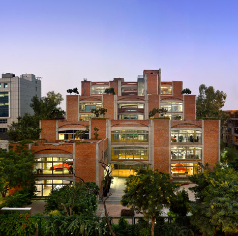 Triburg Headquarters, Gurgaon, Haryana by SPA Design