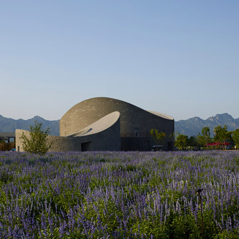 Archea Associati creates fruit-inspired buildings for Yanqing Grape Expo