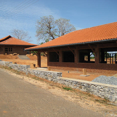 Yodakandiya Community Complex, funded by Architecture for Humanity