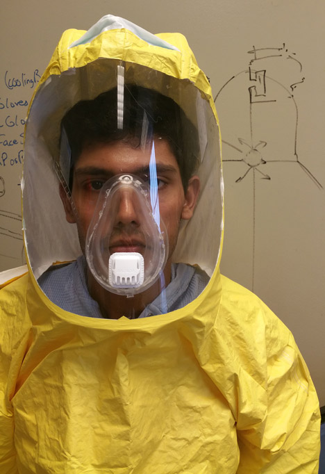 Johns Hopkins USAID Ebola PPE Suit