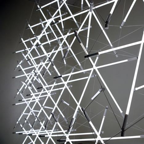 Tensegrity Space Frame by Michal MacIej Bartosik