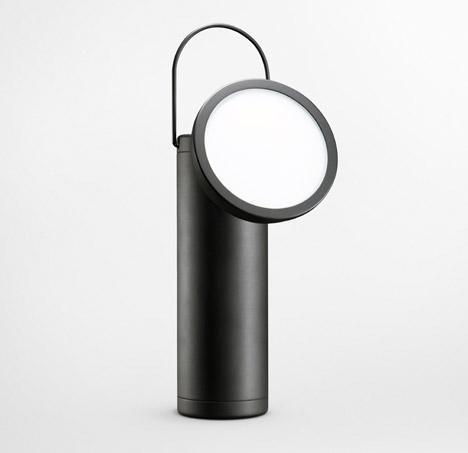 M Lamp by David Irwin