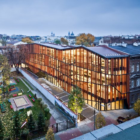 Malopolska Garden of Arts by Ingarden & Ewý Architects Ltd