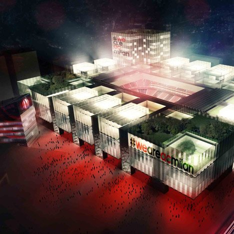 Arup reveals plans for new AC Milan football stadium
