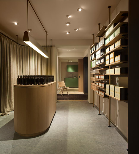 Aesop ABC Viertel Hamburg by Vincent Van Duysen Architects