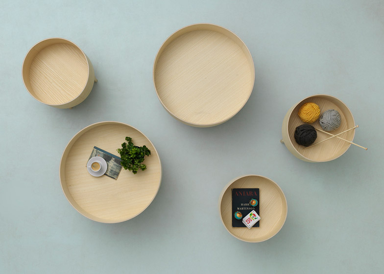 Bowl Table and Tiki Collection by Andreas Engesvik for Fogia