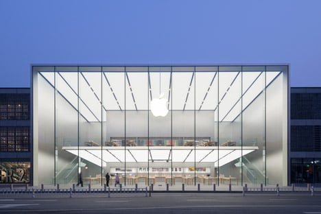 Apple Store Westlake Hangzhou China by Foster and Partners