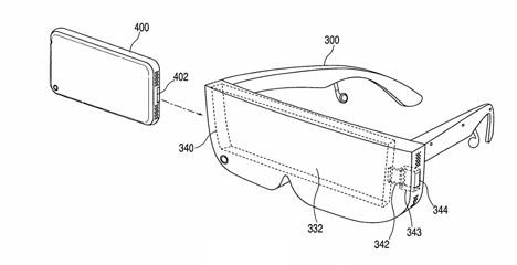 Apple wireless virtual reality headset patent