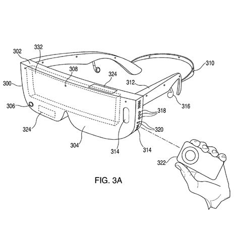 Apple wireless virtual reality headset patent