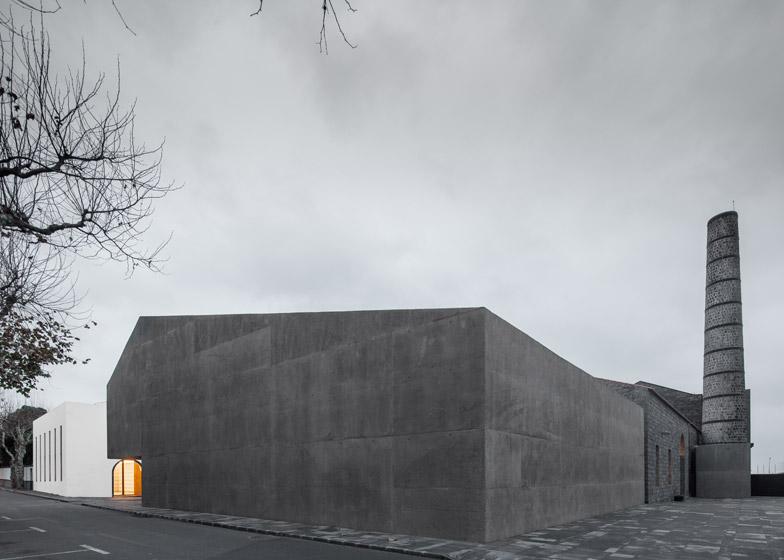 Arquipélago Contemporary Arts Centre, Ribeira Grande, Azores, by João Mendes Ribeiro Arquitecto and Menos é Mais Arquitectos Associados